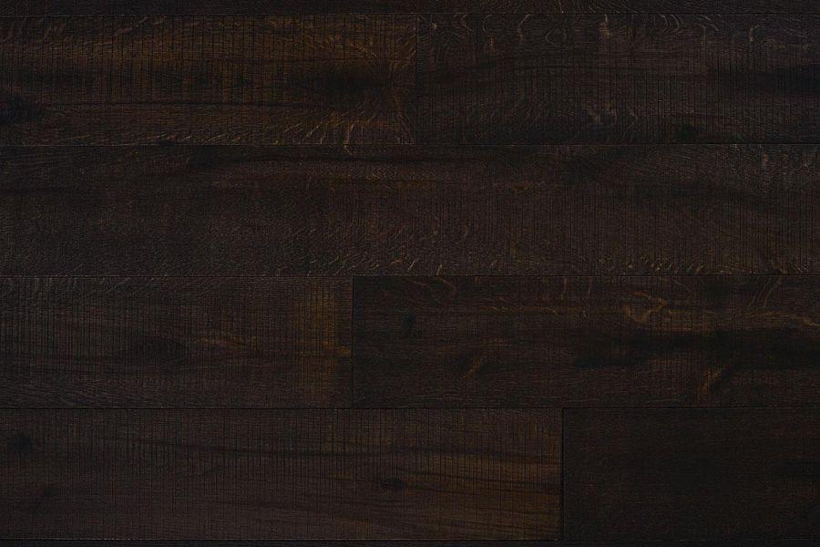 Engineered Oak Coca Dark Coffee Matt Lacquered Wood Flooring - 20mm x 6mm x 190mm
