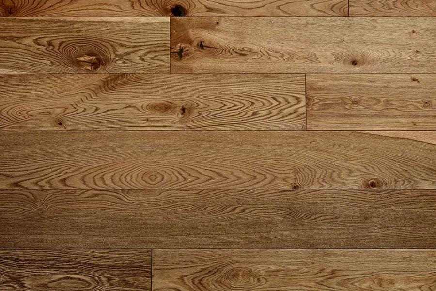 Engineered Oak Dark Honey Matt Lacquered Wood Flooring - 20mm x 6mm x 190mm