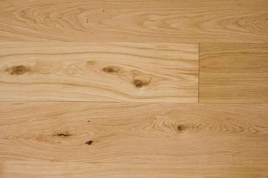 Engineered Oak Brushed UV Oiled Wood Flooring - 15mm x 4mm x 240mm