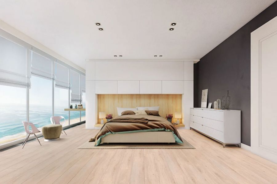 Engineered Oak Unfinished Wood Flooring - 16mm x 6mm x 220mm